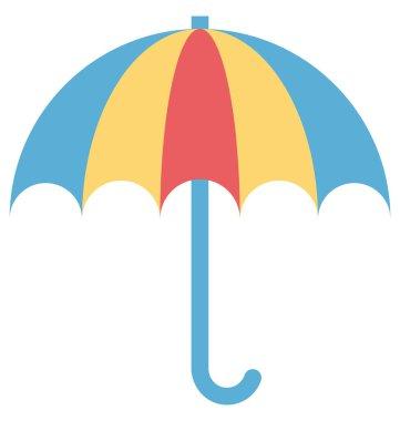 Umbrella, Sunshade Vector Icon