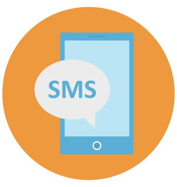 Sms Bubble Isolated Vector icon that can be easily edit or modified
