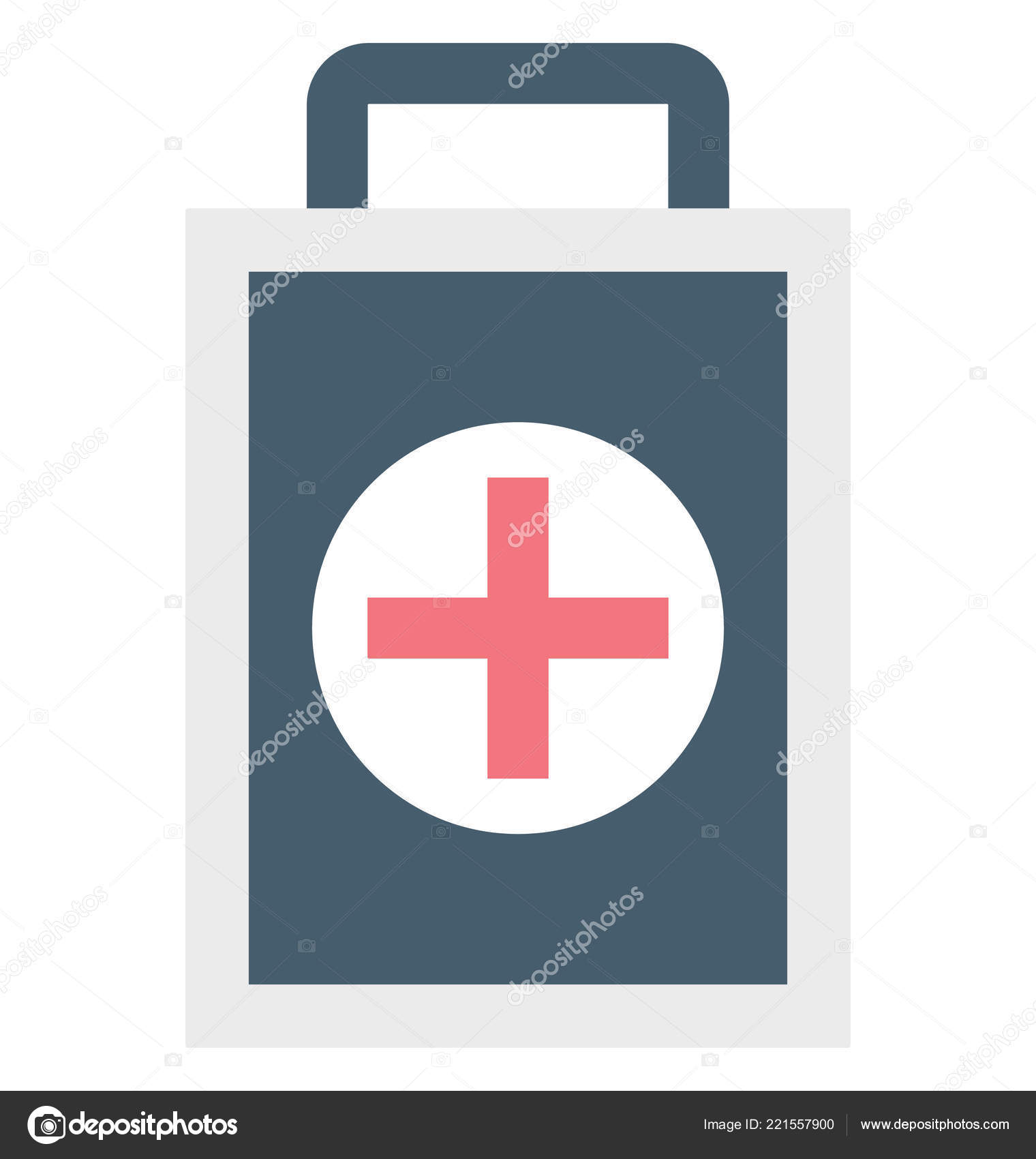 Medical Aid First Aid Isolated Vector Icon Can Easily Modified
