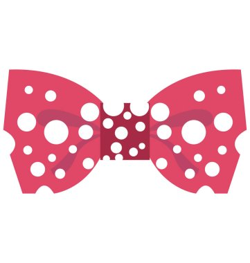 Bowtie Vector Isolated Vector icons that can be easily modified and edit