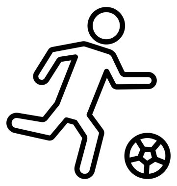 Football, kick Isolated Vector Icon that can be easily modified or edited