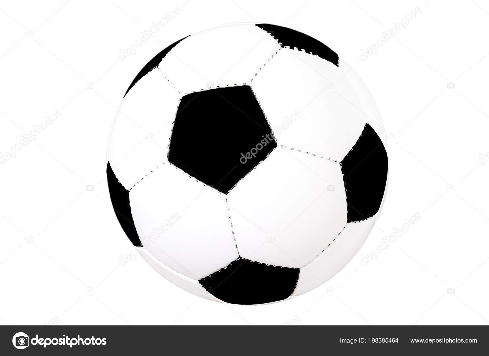 Fussball Isoliert Freisteller Schwarze Und Weisse Klassische