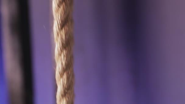 Die Bewegung des Seilhebemechanismus
