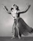 Fotografie Porträt einer Hula-Tänzerin