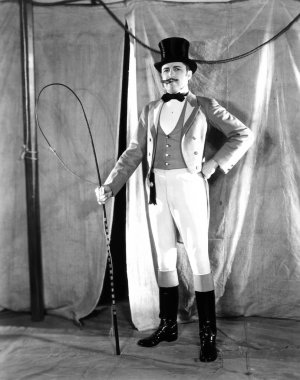 Portrait of a ringmaster