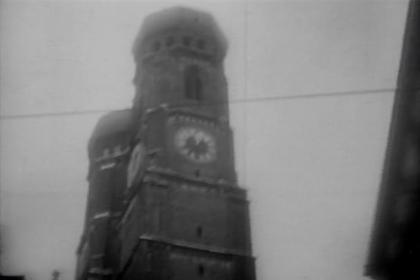 Sicht der Stadt aus dem Auto, München, Deutschland, 1930er Jahre