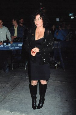 Patti D'Arbanville at DENIS LEARY FIREFIGHTERS FOUNDATION BENEFIT, NY 10/15/2001
