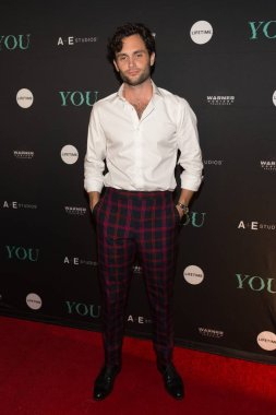 Penn Badgley at arrivals for YOU Premiere on Lifetime, Zengo, New York, NY September 6, 2018. Photo By: Jason Smith/Everett Collection