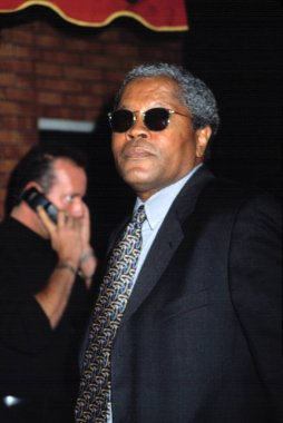 Clarence Williams III at DENIS LEARY FIREFIGHTERS FOUNDATION BENEFIT, NY 10/15/2001