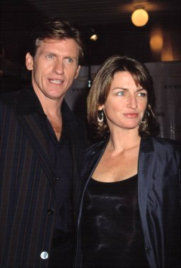 Denis Leary and his wife at Michael J. Fox Foundation Benefit, NY 12/8/2001, by CJ Contino