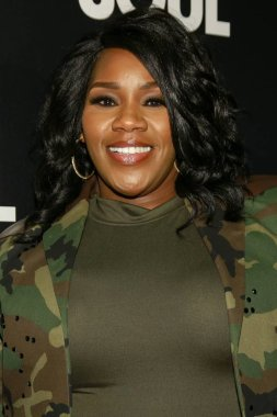 Kelly Price at arrivals for AMERICAN SOUL Premiere on BET, New World Stages, New York, NY January 29, 2019