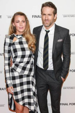 Blake Lively, Ryan Reynolds at arrivals for Sony Pictures Classics FINAL PORTRAIT Premiere, Solomon R. Guggenheim Museum, New York, NY March 22, 2018