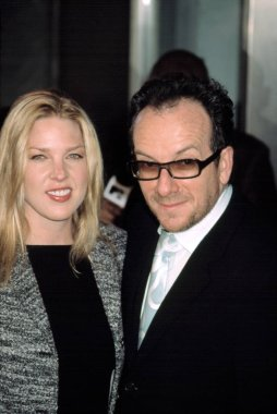 Diana Krall and Elvis Costello at premiere of IT RUNS IN THE FAMILY, NY 4/13/2003, by CJ Contino