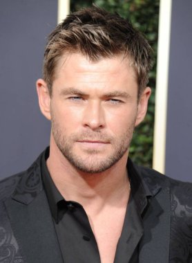 Chris Hemsworth at arrivals for 75th Annual Golden Globe Awards - Arrivals 2, The Beverly Hilton Hotel, Beverly Hills, CA January 7, 2018. Photo By: Dee Cercone/Everett Collection