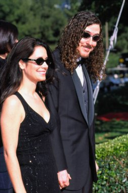 Weird Al Yankovic and his Wife at the American Comedy Awards, LA, 4/25/2001, by Robert Hepler.