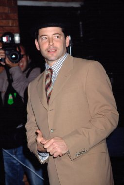 Matthew Broderick at DENIS LEARY FIREFIGHTERS FOUNDATION BENEFIT, NY 10/15/2001