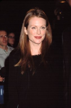 Julianne Moore at DENIS LEARY FIREFIGHTERS FOUNDATION BENEFIT, NY 10/15/2001, by CJ Contino