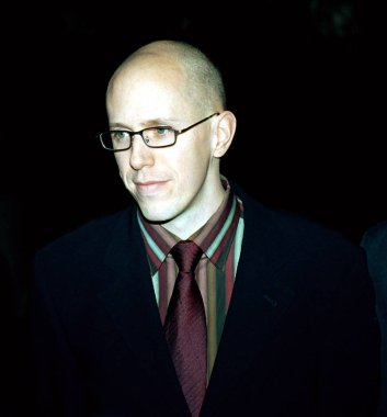 John August (screenwriter) at premiere of BIG FISH, 12/4/2003, by Janet Mayer