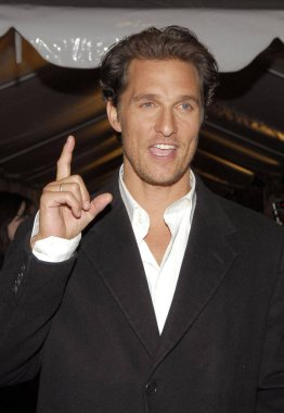 Matthew McConaughey at arrivals for FAILURE TO LAUNCH Premiere, Clearview Chelsea West Cinemas, New York, NY, Wednesday, March 08, 2006. Photo by: Gregorio Binuya/Everett Collection