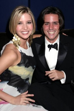 Ivanka Trump, James Bingo Gubelmann at the after-party for New York Pops 2x2 22nd Birthday Gala Benefit, Young Friends' Party at Frederick's, New York, NY, May 09, 2005. Photo by: Rob Rich/Everett Collection