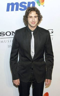 Josh Groban at arrivals for Clive Davis Pre-Grammy Party, Beverly Hilton Hotel, Los Angeles, CA, February 09, 2008. Photo by: Jared Milgrim/Everett Collection