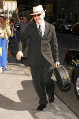Steve Martin at arrivals for The Late Show with David Letterman, The Ed Sullivan Theater, New York, NY, September 21, 2005. Photo by: Gregorio Binuya/Everett Collection