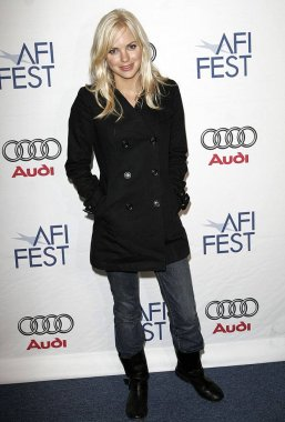 Anna Faris at arrivals for SMILEY FACE Screening at AFI FEST 2007 presented by Audi, AFI FEST Rooftop Village, Los Angeles, CA, November 10, 2007. Photo by: Adam Orchon/Everett Collection
