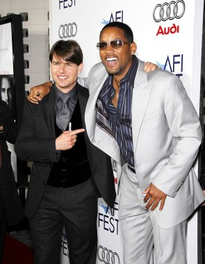 Tom Cruise, Will Smith at arrivals for The LIONS FOR LAMBS Premiere at Opening Night of AFI FEST 2007 presented by Audi, ArcLight Hollywood Cinerama Dome, Los Angeles, CA, November 01, 2007. Photo by: Michael Germana/Everett Collection