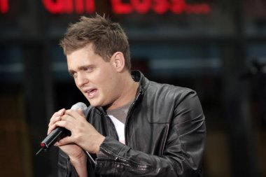 Michael Buble on stage for NBC Today Show Concert, Rockefeller Center, New York, NY, August 19, 2005. Photo by: Fernando Leon/Everett Collection