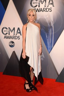 Ashley Monroe at arrivals for 49th Annual CMA (Country Music Association ) Awards, Bridgestone Arena, Nashville, TN November 4, 2015. Photo By: Eli Winston/Everett Collection