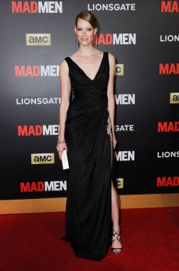 Alyssa Sutherland at arrivals for MAD MEN & AMC Present The Black & Red Ball, The Music Center''s Dorothy Chandler Pavilion, Los Angeles, CA March 25, 2015. Photo By: Sara Cozolino/Everett Collection