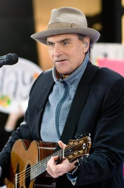 James Taylor on stage for NBC TODAY SHOW Concert with James Taylor, Rockefeller Center, New York, NY, November 20, 2007. Photo by: David Giesbrecht/Everett Collection
