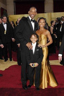 Will Smith, Jaden Smith, Jada Pinkett Smith at arrivals for OSCARS 79th Annual Academy Awards - ARRIVAL