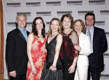 John Dossett, Enid Graham, Kathryn Meisle, Lynn Redgrave, Kate Burton, Michael Cumpsty at arrivals for THE CONSTANT WIFE Opening Night and After Party, The American Airlines Theatre, New York, NY, June 16, 2005. Photo by: Jeff Smith/Everett Collectio