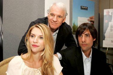 Claire Danes, Steve Martin, Jason Schwartzman at the press conference for SHOPGIRL Toronto Film Festival World Premiere, Sutton Place Hotel, Toronto, ON, September 09, 2005. Photo by: Malcolm Taylor/Everett Collection