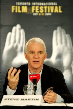 Steve Martin at the press conference for SHOPGIRL Toronto Film Festival World Premiere, Sutton Place Hotel, Toronto, ON, September 09, 2005. Photo by: Malcolm Taylor/Everett Collection