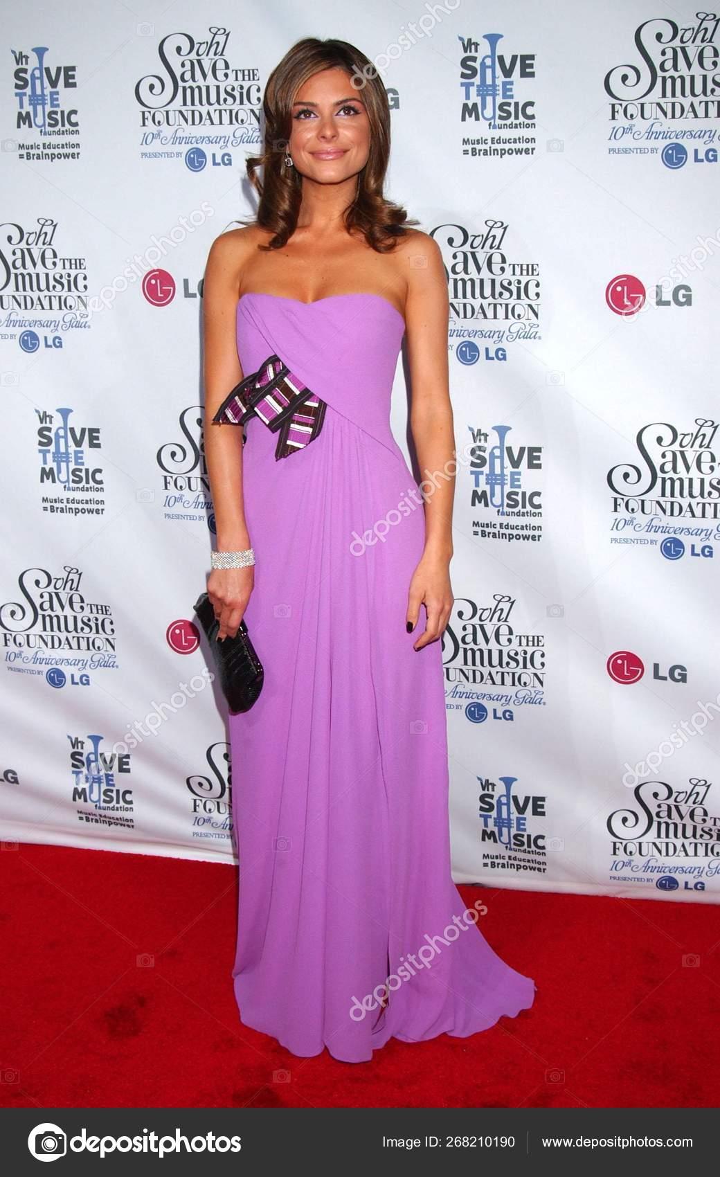 Maria Menounos Vestido Carolina Herrera Llegada Para Gala