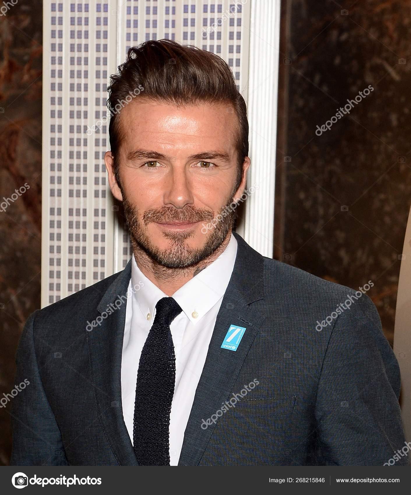 David Beckham Public Appearance Unicef Goodwill Ambassador David Beckham Marks Stock Editorial Photo C Everett225