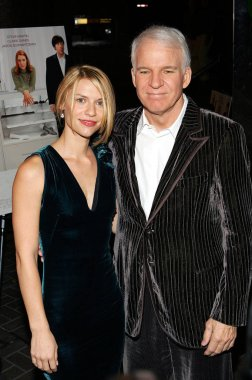 Claire Danes, Steve Martin at arrivals for SHOPGIRL Screening, New Beekman Theater, New York, NY, October 17, 2005. Photo by: Dima Gavrysh/Everett Collection
