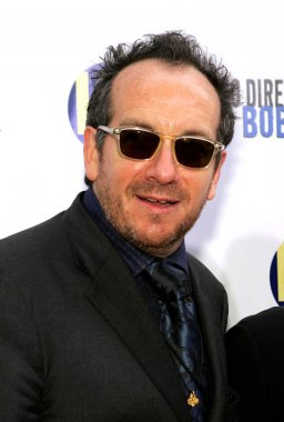Elvis Costello at arrivals for No Direction Home: Bob Dylan DVD Premiere, The Ziegfeld Theatre, New York, NY, September 19, 2005. Photo by: Gregorio Binuya/Everett Collection