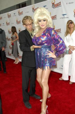 Andy Dick, Lady Bunny at arrivals for Comedy Central Celebrity Roast of Pamela Anderson, Sony Studios, Los Angeles, CA, August 07, 2005. Photo by: Michael Germana/Everett Collection