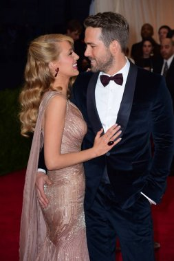 Blake Lively, Ryan Reynolds at arrivals for 'Charles James: Beyond Fashion' Opening Night at The Metropolitan Museum of Art Annual Gala - Part 4, Anna Wintour Costume Center, New York, NY May 5, 2014