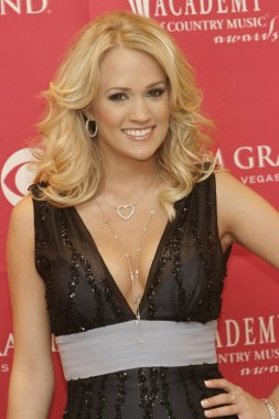 Carrie Underwood in the press room for Academy of Country Music Awards - Pressroom, MGM Grand Garden Arena, Las Vegas, NV, May 23, 2006. Photo by: James Atoa/Everett Collection