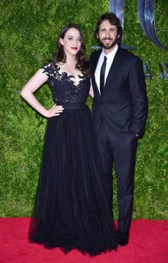 Kat Dennings, Josh Groban at arrivals for The 69th Annual Tony Awards 2015 - Part 3, Radio City Music Hall, New York, NY June 7, 2015. Photo By: Gregorio T. Binuya/Everett Collection