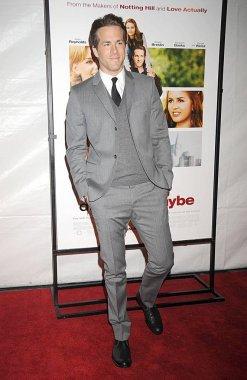 Ryan Reynolds at arrivals for DEFINITELY, MAYBE Premiere, Ziegfeld Theatre, New York, NY, February 12, 2008