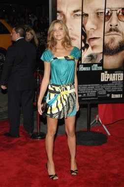 Anna Beatriz Barros at arrivals for THE DEPARTED Premiere, Ziegfeld Theatre, New York, NY, September 26, 2006. Photo by: William D. Bird/Everett Collection
