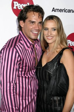Cristian de la Fuente, Angelica Castro, at arrivals for PEOPLE EN ESPANOLS 50 MOST BEAUTIFUL Party, Capitale, New York, NY, Wednesday, May 18, 2005. Photo by: Rob Rich/Everett Collection