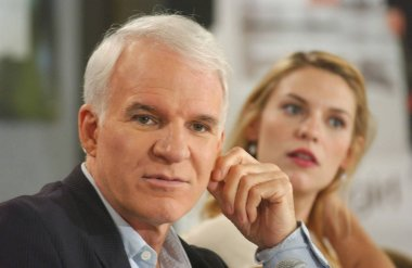 Steve Martin, Claire Danes at the press conference for SHOPGIRL Toronto Film Festival World Premiere, Sutton Place Hotel, Toronto, ON, September 09, 2005. Photo by: Tom Sandler/Everett Collection