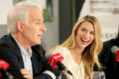 Steve Martin, Claire Danes at the press conference for SHOPGIRL Toronto Film Festival World Premiere, Sutton Place Hotel, Toronto, ON, September 09, 2005. Photo by: Malcolm Taylor/Everett Collection