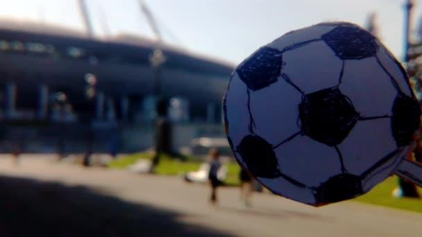 Fußball-Stadion Ballsport Hintergrund